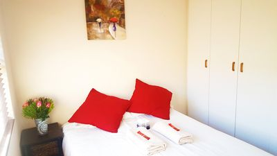 Photo for Quiet room in leavy suburb, 5 minutes away from wine farms