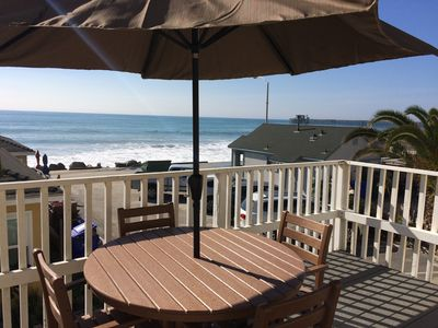 Photo for Spectacular Oceanfront Vacation Rentals.  Right at the Beach.