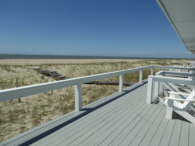 Photo for Oceanfront with fantastic views!! Private Beach Access! Close to BHI Club!