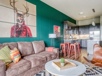 Photo for Sleek 1BR in Downtown Austin #1106 by WanderJaunt