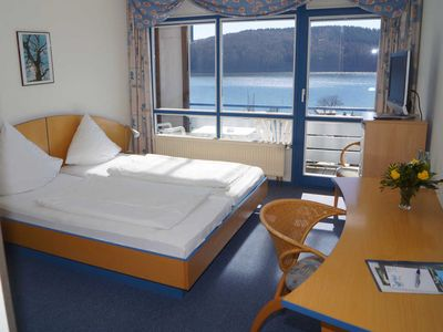 Photo for Double Room with Balcony - Hotel Haus am See
