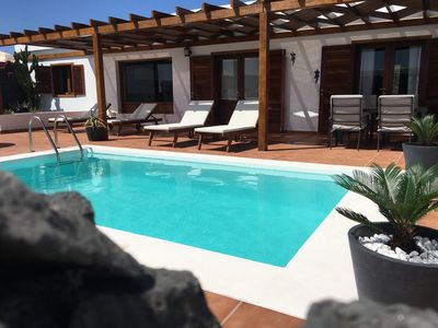 Photo for Paula Villa with private pool, wifi, 300 meters from the sea