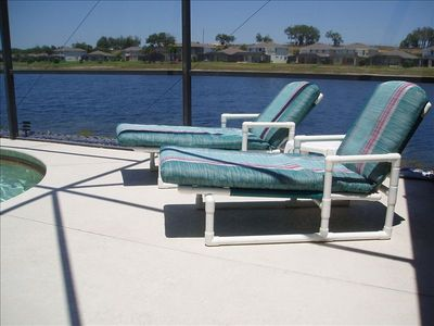Pool Furniture with Comfortable Padded Cushions