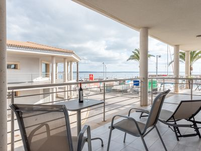 Photo for Beautiful Apartment at the Harbour with Terrace, Sea View & Wi-Fi; Street Parking Available
