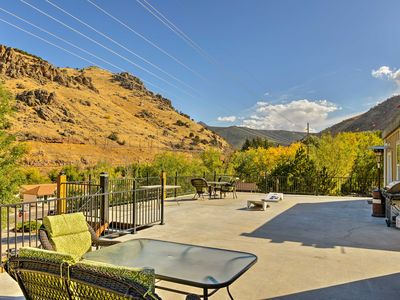 Photo for Lava Hot Springs Studio w/Views - Walk to River