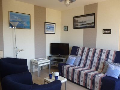 Photo for In Quiberon 50m from the Porigo beach: T2 with INTERNET WIFI access