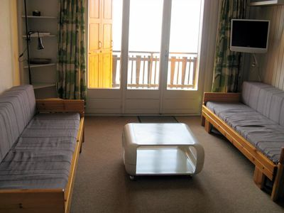 Photo for 2* studio for 4 people situaded in the centre of the resort at about 700 m from the skilift. Entranc