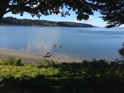 Photo for A Home On The Harbor- S. Whidbey, Easy Access Private Beach, Water Views, Quiet