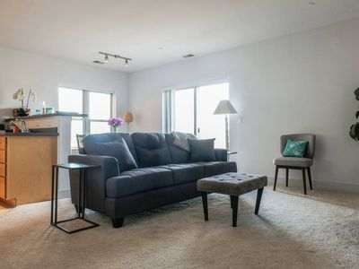 Photo for Bright 1BR + Patio | Dining & Summerfest | Parking