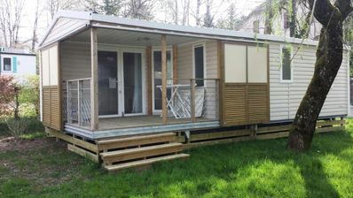 Photo for Camping Le Moulin **** - Mobil Home Soléo 3 Rooms 5/6 People