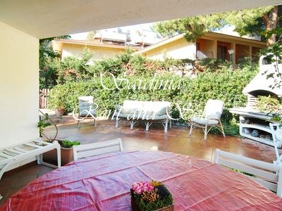 Photo for Villa Salice, 4 beds, 450 meters from the beautiful beach of Geremeas