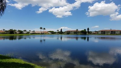 Photo for Lake View, Ground Floor, Gated Condo in Ft Myers!