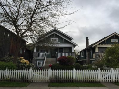 Heritage listed house in the heart of Kitsilano