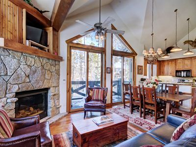 Photo for Upscale Townhome in Ski in Ski out COMPLEX-Private Hot Tub-Close to Main Street