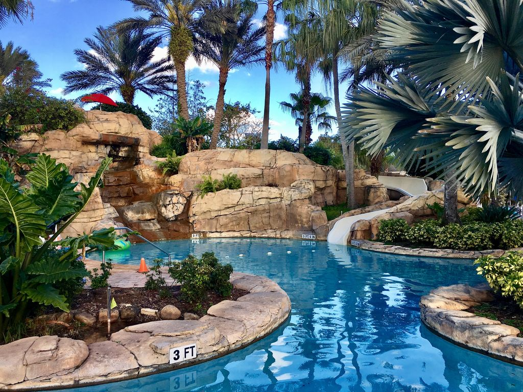 5 Star Reunion Resort Private Pool Free Water Park