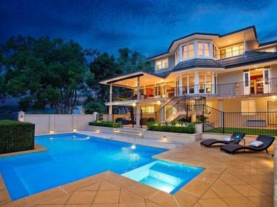 Photo for VILLE DE LONGUE (H668) - Luxury Waterfront Home with Harbour Access, Pool Views
