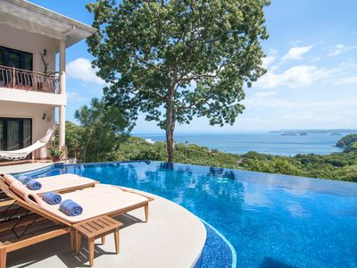 Photo for All inclusive Luxury Villa with a Breathtaking Ocean View. Private- full staff.