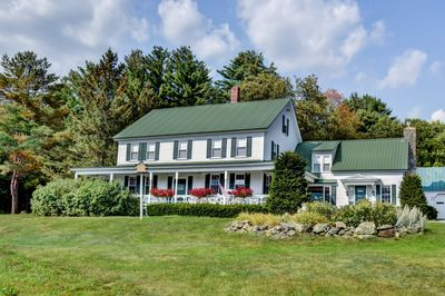 Breathtaking mountain views and 2000' of Sunday River frontage