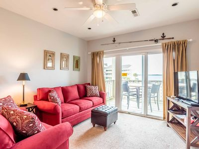 Photo for Cute Condo with Bay Views in Pensacola Beach! ~ Private Balcony and Free WiFi!