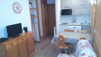 Photo for Cozy apartment - At the foot of the slopes - 1 bedroom