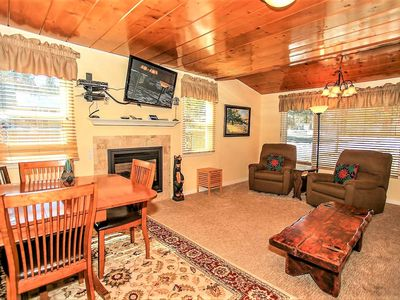 Photo for Country house 603 m from the center of Big Bear Lake with Internet, Parking (983571)