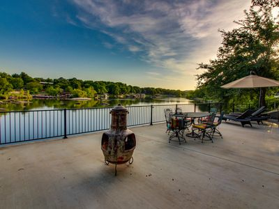 Photo for NEW LISTING! Dog-friendly riverfront home w/outdoor space -kayaks available