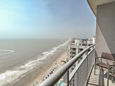 Photo for 2BR Oceanfront Myrtle Beach Penthouse Condo!