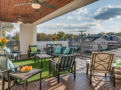 Photo for 4 Bedrooms, 3.5 Baths, Near Downtown-AMAZING Roof Deck!
