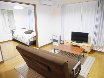 Photo for E101 A quiet apartment located 1 minute by JR from Sapporo Station and 4 minutes on foot from Naebo Station.Air-conditioned