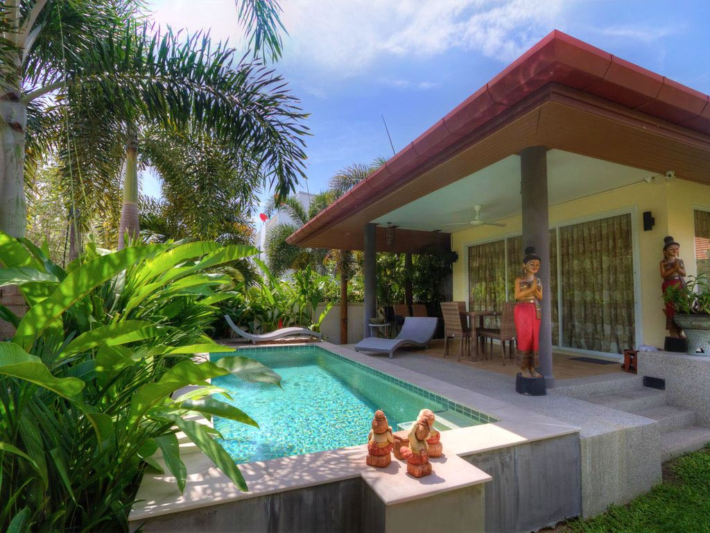 Volnay stunning bungalow private pool vrbo - Bungalows with swimming pool in sri lanka ...
