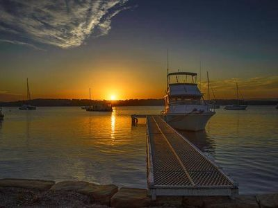 Photo for Sand Executive Lakehouse- Absolute Waterfront Holiday Home t Lake Macquarie