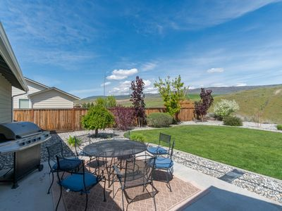 Photo for Manicured home w/ hot tub, patio & gorgeous views - close to town & the rivers!