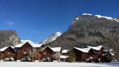 Photo for Samoens Village Location, close lifts, sleeps 8 - 10, pools,  sauna, steamroom