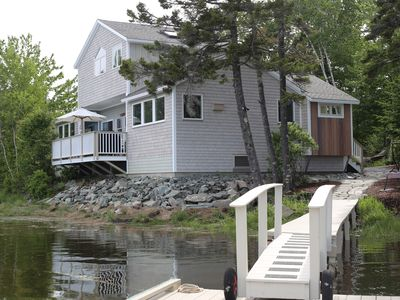 Photo for Sea Breezes is an Elegant Waterfront Home Near Acadia National Park