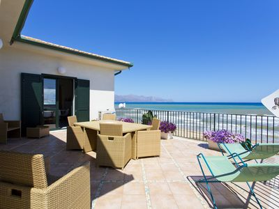 Photo for Dune Home, accommodation by the sea 7/9 beds Alcamo Marina on the sea