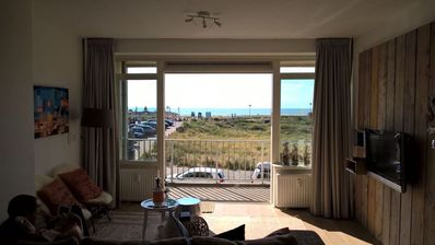 Photo for Noordwijk,Directly at Sea(view),Place2BEach4-6 pers.,modern holiday apartment +P