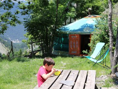 Photo for A Yurt in the Alpes de Hautes Provence