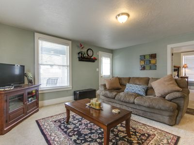 Photo for Adorable bungalow near year-round outdoor activities - in the heart of downtown!