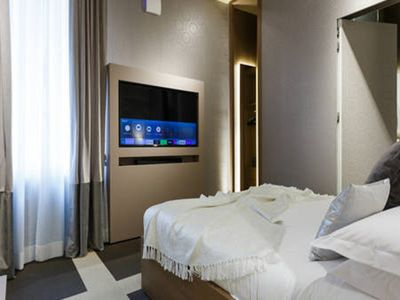 Photo for SUPERIOR ROOM for 4 people at PRIVATE LUXURY SUITES Roma Centro