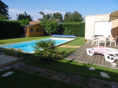 Photo for House with swimming pool in the heart of the vineyard