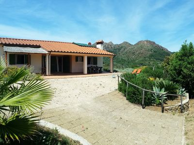Photo for Hillside villa overlooking Porto Azzurro