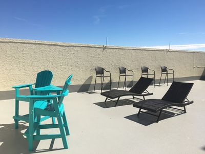 Photo for GULF FRONT  PENTHOUSE WITH 800sf PRIVATE ROOFTOP TERRACE