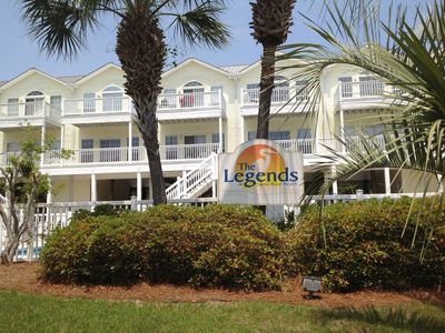 Photo for Beach Treat! Gulf view, closest Legends unit to beach! Recently remodeled
