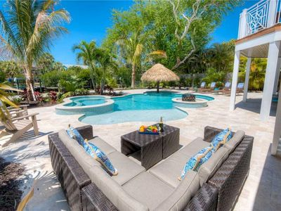 Photo for Serenity Beach - Gorgeous Five Bedroom Waterfront House, Sleeps 13