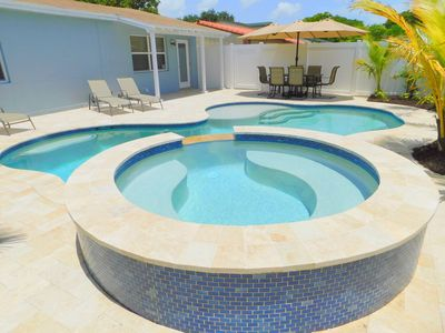 Photo for Cool Ft.Lauderdale 3/2 for 8, Heated Pool & Jacuzzi