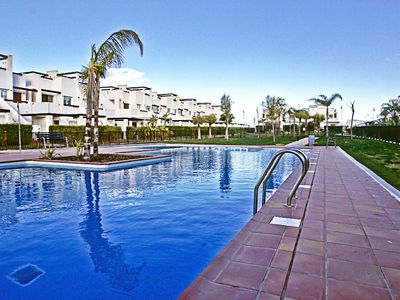 Photo for Quiet 2 Bedroom Family-Friendly Apartment On The Condado De Alhama Golf Resort