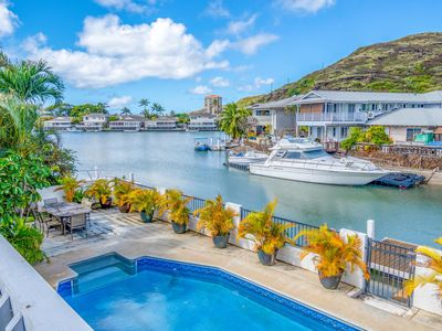 Photo for Hawaii Kai marina front five Bedroom home with private pool! NEWLY REMODELED!!