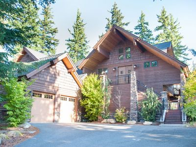 Photo for Stunning Golf Course Views, Hot Tub, Fire Pit, Pool Table, w/ Full Resort Access