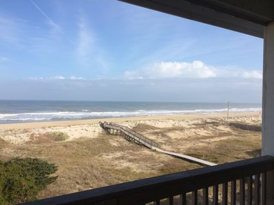 Photo for Beautiful Ocean Front Condo in Peaceful Rodanthe: Dacotah Hill