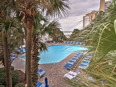 Photo for Oceanfront Myrtle Beach Condo w/Pool & Lazy River!
